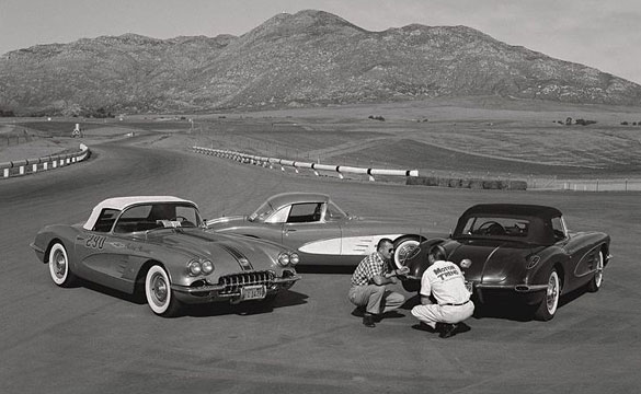 [PIC] Throwback Thursday: Motor Trend Tests the 1958 Corvette