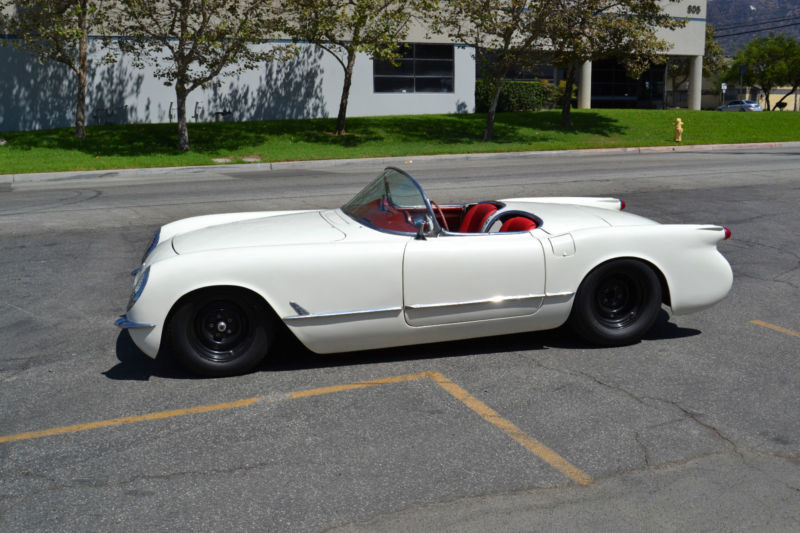 Corvettes On Ebay Ls Powered 1954 Corvette Restomod