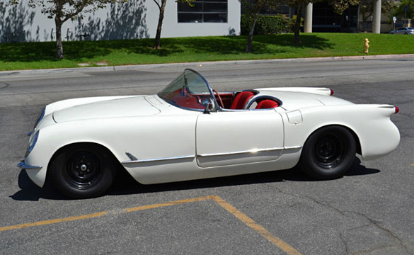 Corvettes on eBay: LS-Powered 1954 Corvette Restomod