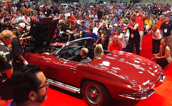 [VIDEO] 1967 L88 Corvette Convertible Sells for Record $3.2 Million at Mecum Dallas