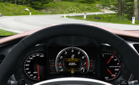 Johnson Controls Develops Advanced Cluster Display for 2014 Chevrolet Corvette Stingray
