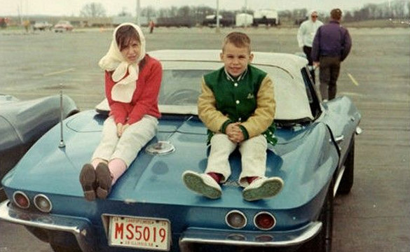 [PIC] Throwback Thursday: Sitting on the Back of a 1966 Corvette