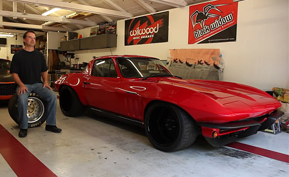 [VIDEO] Autocrossing a 500-hp 1965 Corvette Sting Ray