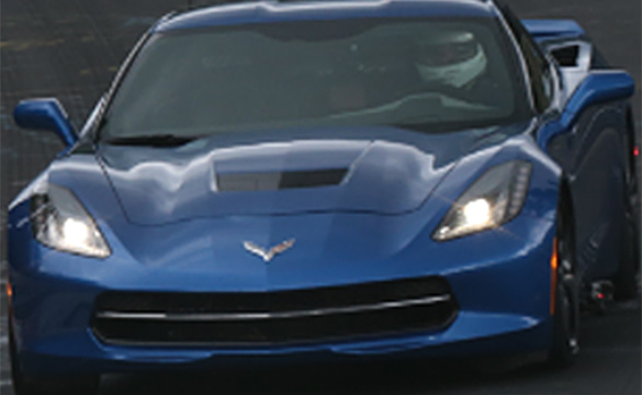 [PIC] Hey, Is That a GoPro Camera mounted on the Corvette Stingray Testing at the Nurburgring?