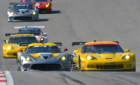 Corvette Racing at Austin: Thrilling