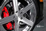 Black C6 Corvette Z06 Gets Upgraded with D2FORGED CV2 Wheels