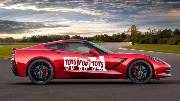 Join Kerbeck for the 10th Annual Toys for Tots Corvette Cruise