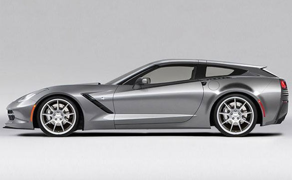 Callaway Green Lights the 2014 Corvette Stingray Shooting Brake for Production