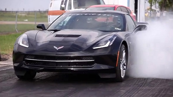 [VIDEO] Hennessey Runs C7 Corvette Stingray at the Drag Strip