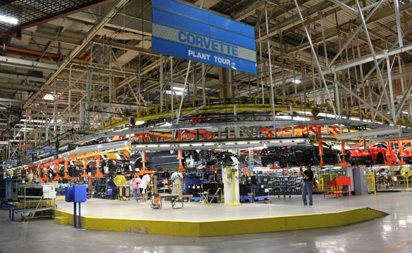 Corvette Assembly Plant to Reopen Tours Starting October 14th