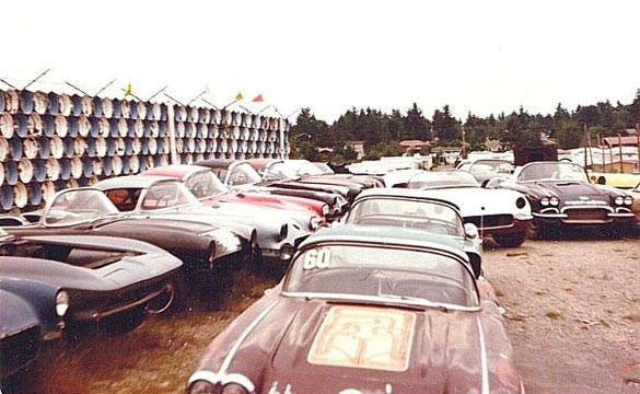[PIC] Throwback Thursday: One Man's Trashed Corvette is Another Man's Treasure