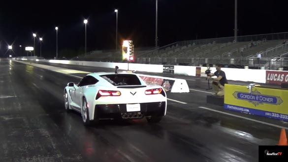 [VIDEO] First C7 Corvette Non-Z51 Seven-Speed Manual Quarter Mile Run