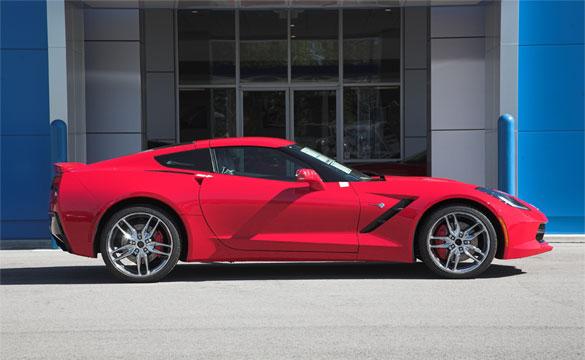 Win this 2014 Corvette Stingray