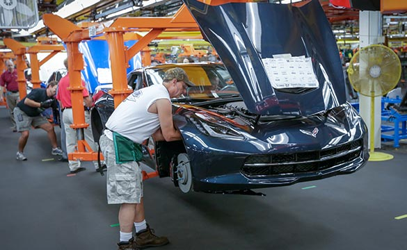 Corvette Assembly Plant Named Kentucky Manufacturer of the Year