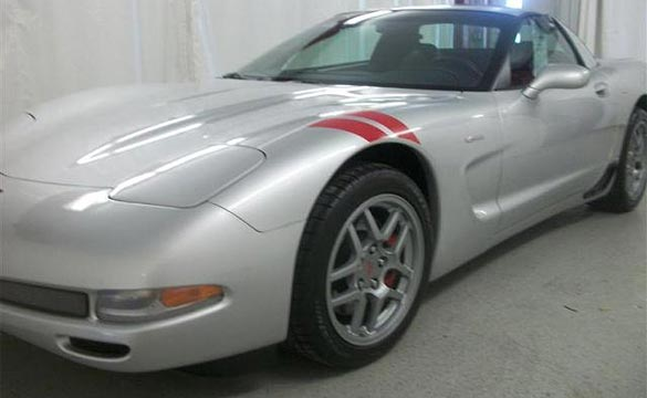 2001 Corvette Z06 Stolen from Minnesota Car Lot