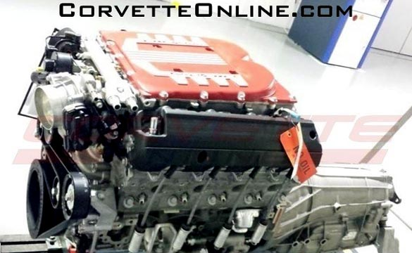 Is this is the C7 Corvette Z07's Supercharged LT4 V8 Engine?