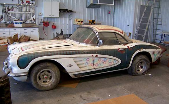 Corvettes On Craigslist Barn Find 1961 Corvette Fuelie