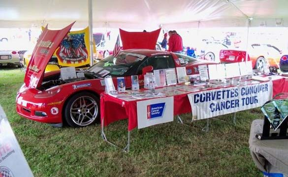 Corvettes Conquer Cancer Tour Coming to Huntsville, AL on October 26th