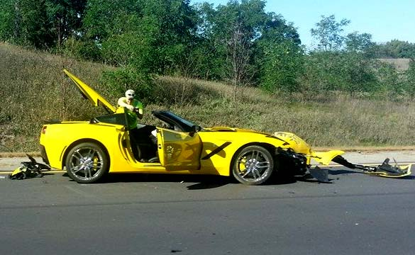[ACCIDENT] Is this the First Customer-Owned 2014 Corvette Stingray Crash