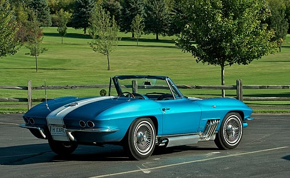 The 1963 Harley J. Earl Corvette Sells for $1.5 Million at Mecum Chicago