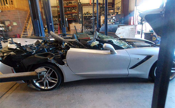 [ACCIDENT] Another 2014 Corvette Stingray Bites the Dust