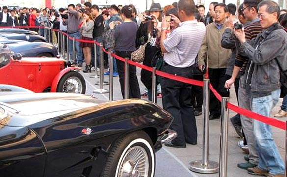 Vintage Corvettes are Becoming More Popular in China