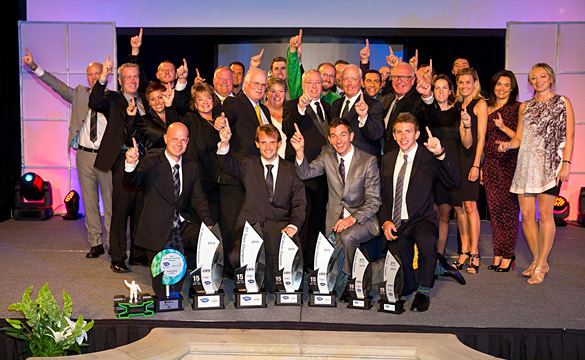Championship Trophies Galore for Corvette Racing