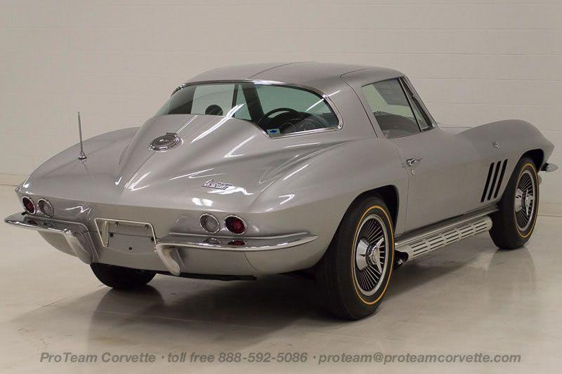 own a copo 1966 corvette coupe built for a corvette hall of famer corvette sales news. Black Bedroom Furniture Sets. Home Design Ideas