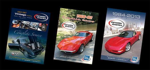Corvette America Releases New Catalog for 1953-67 Corvettes