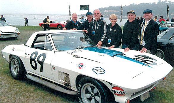 1967 L88 Corvette Racer at Pebble Beach