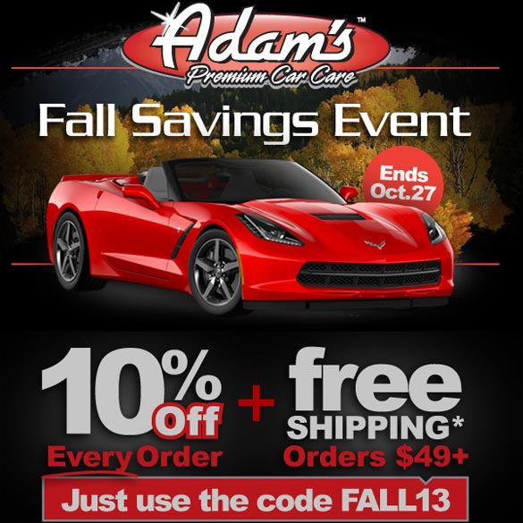 Adam's Polishes Fall Sale