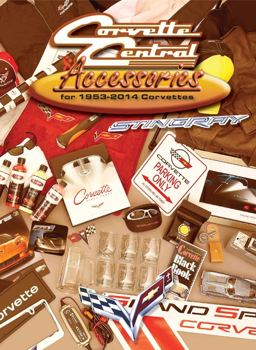 Corvette Central Releases New Accessories Catalog for 1953-2014 Corvettes