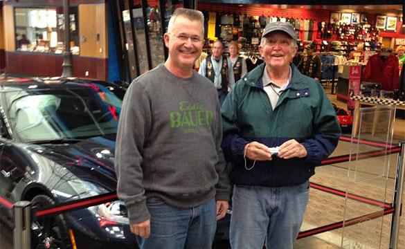 [PICS] Father and Son Take Museum Delivery of their 2014 Corvette Stingrays