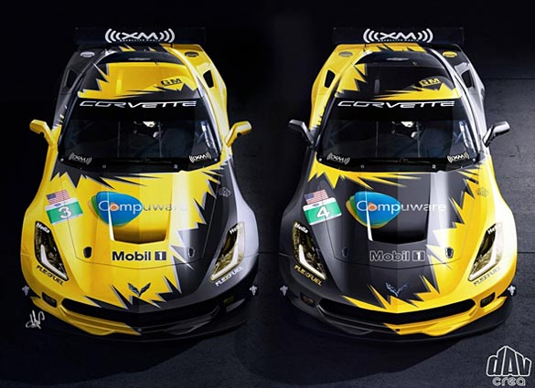 [PIC] Corvette Racing's C7.R Livery Revealed?