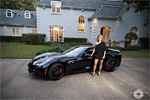 Ungrateful Girlfriend Gets a Web Redemption in her C7 Corvette Stingray