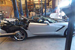 [PIC] Wrecked C7 Corvette Chassis to Get a New Lease on Life