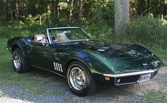 [VIDEO] Classic 1969 Corvette Back on the Road after Superstorm Sandy