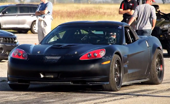 [VIDEO] C6 Corvette Suffers Nitrous Explosion at the Texas Mile