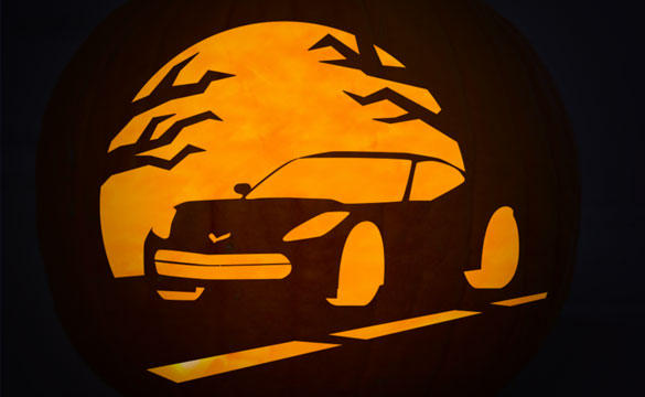 Make Yourself a Stingray-o-Lantern with Chevrolet's Pumpkin Stencils!