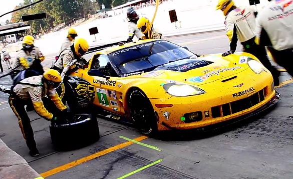 [VIDEO] Corvette Racing at the 2013 Petit Le Mans