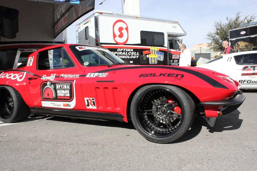 Brian Hobaugh And His 1965 Corvette Win The 2013 Optima