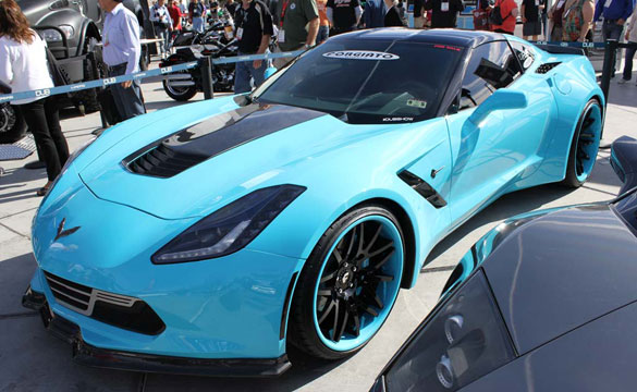 [PICS] SEMA 2013: Forgiato Widebody C7 Corvette Stingray Wins SEMA Design Award