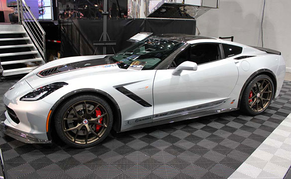 SEMA 2013: The Nowicki Concept7 Corvette Stingray