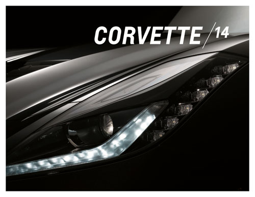 Download the 2014 Corvette Stingray Brochure