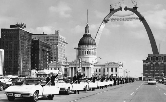 [PIC] Throwback Thursday: Shriners Pick Up their Patrol Corvettes in 1963