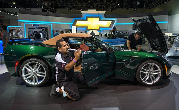 Chevrolet's Undergoing Final Prep for the 2013 LA Auto Show