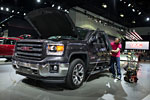 2014 GMC Sierra All-Terrain Undergoing Final Prep for 2013 LA Auto Show