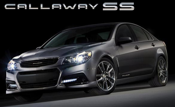 Callaway to Offer a 570 hp version of the Chevy SS Performance Sedan