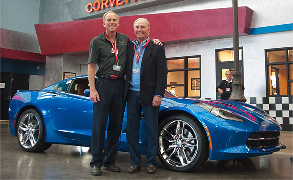 [PIC] Father of Corvette's Chief Engineer Takes Delivery of new 2014 Corvette Stingray
