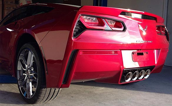 RPI Designs Now Offering C7 Corvette Stingray Lower Painted Bumper Covers